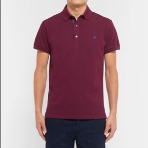 Etro Men's Slim-Fit Polo Shirt